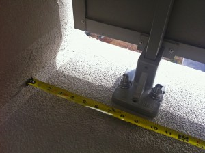 Waterproof coating epoxy barrier.