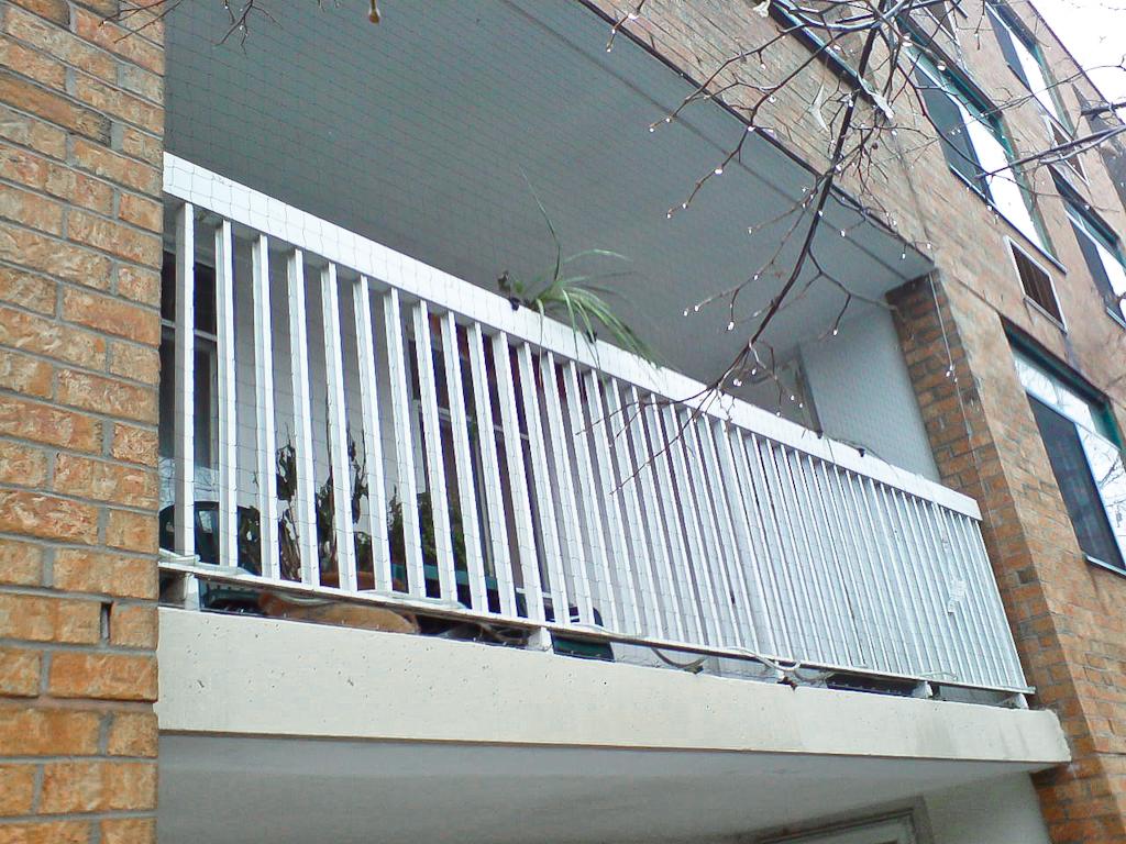 Balcony Netting Toronto   Pigeon Busters (416) 696-7777